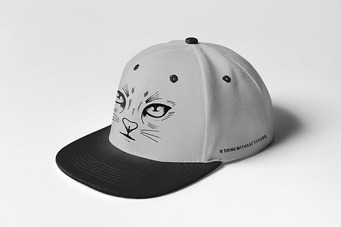 Twisted Cat FlatVisor Front Embroidered