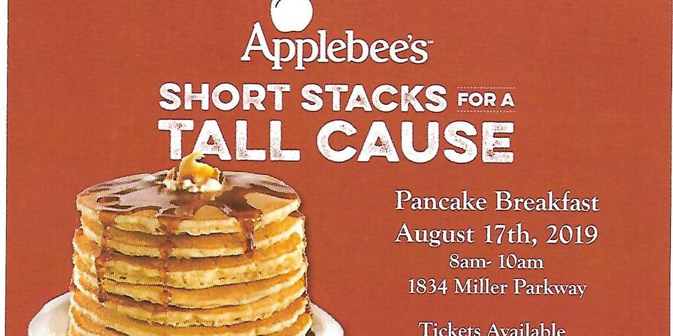 2019 Applebees Flapjack Breakfast