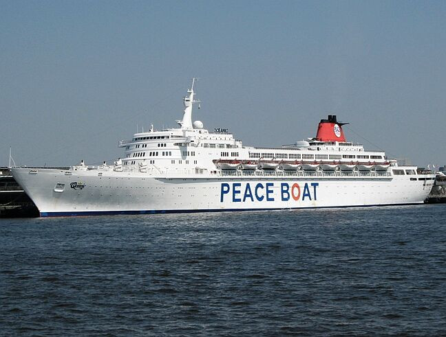 Women of Wai'anae Welcomes the Peace Boat to Hawaii!