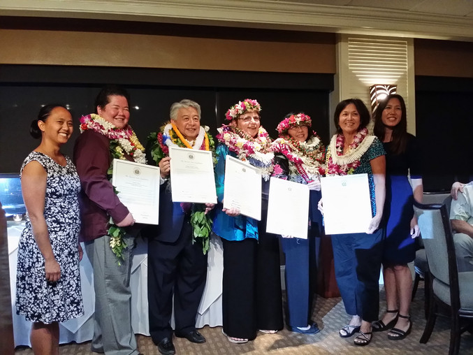 Women of Wai'anae Wins the Hawaii Women Lawyers 2015 Presidential Award