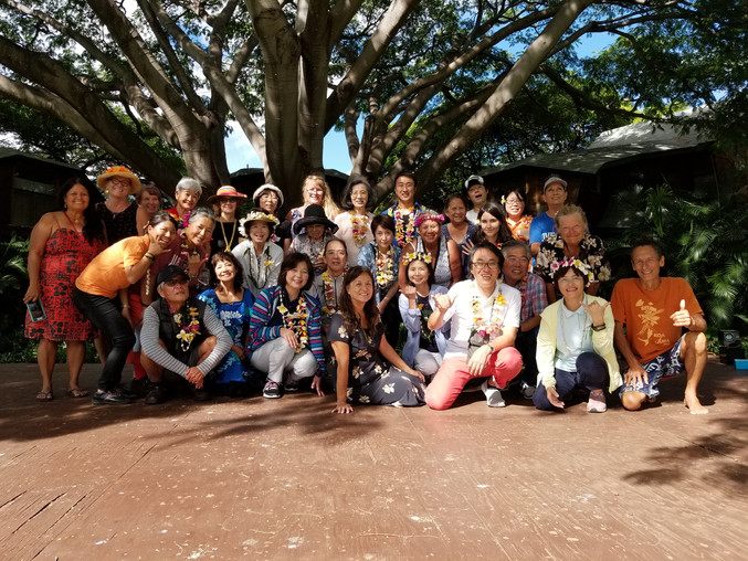 Japan Peace Boat Visits Wai'anae Valley                     For a Second Time