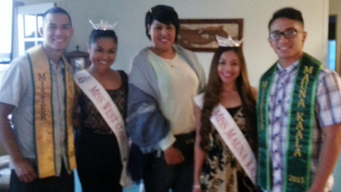 The Miss America Scholarship Program        winners attend WOW meeting