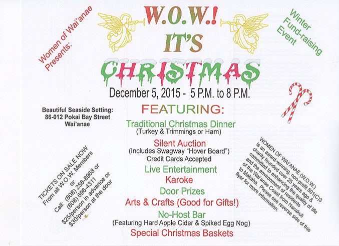Dec 5, 2015 - WOW! It's Christmas Fundraiser