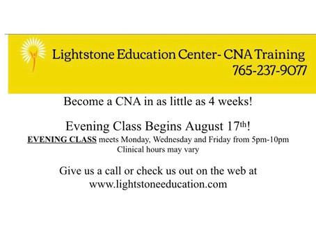 CNA Training- EVENING Class