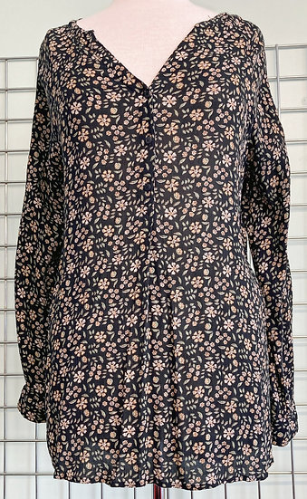 Fat Face Floral Tunic Top UK12