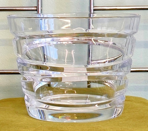 Waterford Crystal Aura Large Lead Crystal Candle Holder