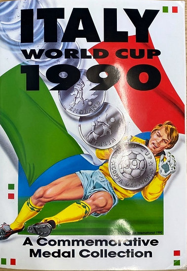 Italy World Cup 1990 Commemorative Medal / Coin Collection