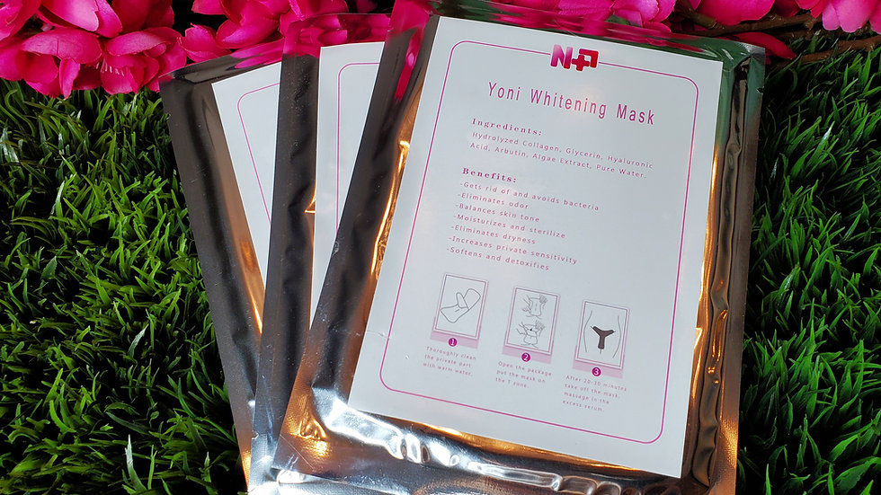 3 Yoni Whitening Masks