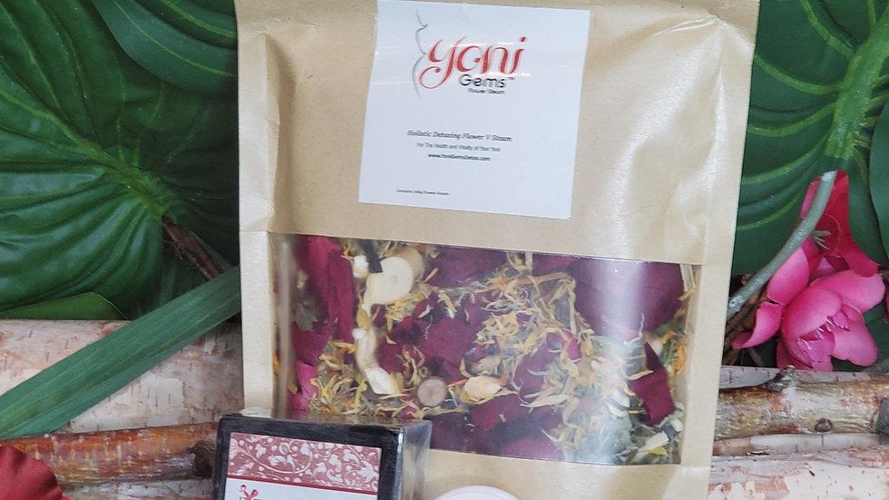 Large Steam, Yoni Pop & Bamboo Charcoal Yoni Soap