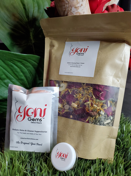 Spiritual Cleanse With Yoni Gems Detox Products!