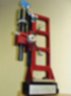 MT30 rack drill, accionamiento neumatico
