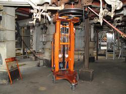 Motor Lifter extendido polea