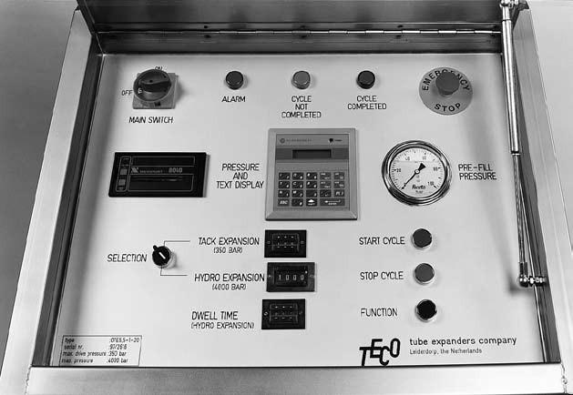 teco hydro detalle de consola