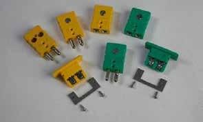Conectores para cables termopares