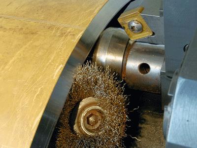 refrentadora de tubos portaherramientas