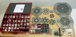 disco y abrasivos  Lapeadora SVS-1