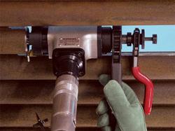 biseladora tube weasel trabajo