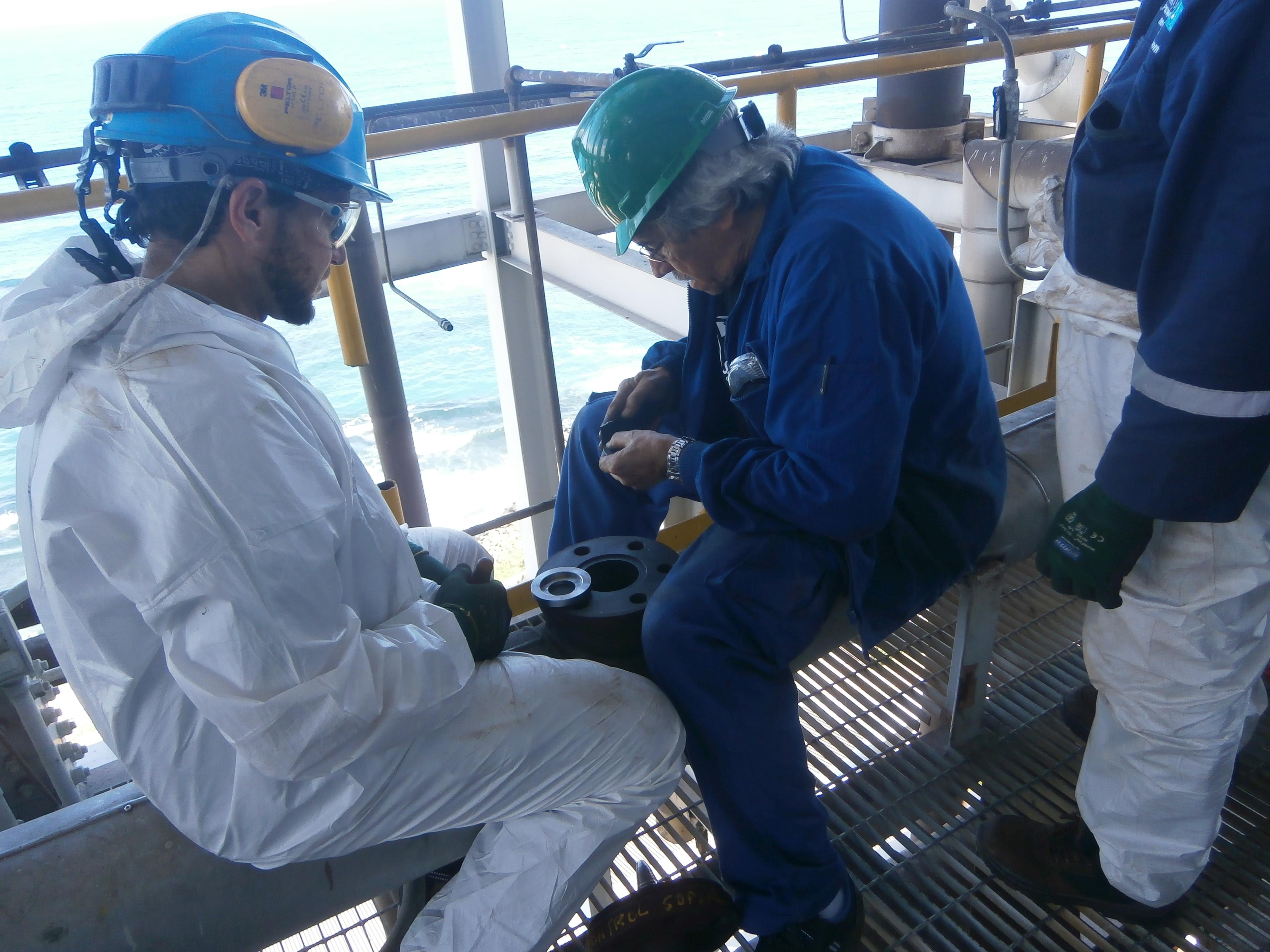 Reparación de válvulas de control