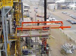 Extracción tubos de horno