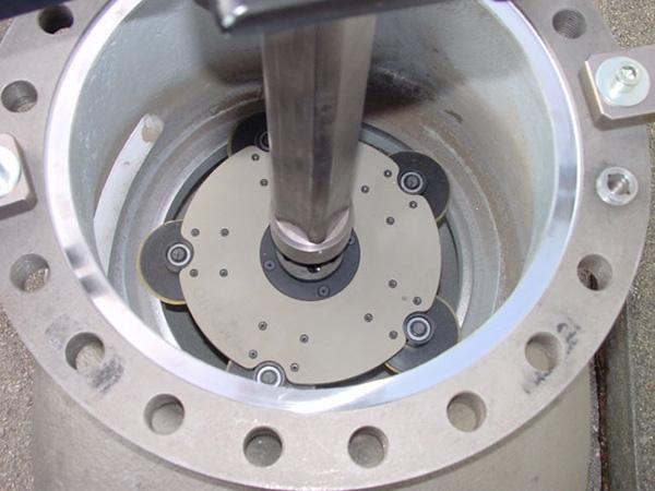 Detalle Lapeadora Unigrind Venta 600