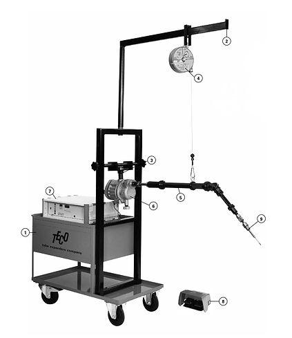 Unidad de expansionado de tubos para intercambiadores de calor