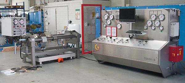 Banco de pruebas Unigrind TSH 50 S