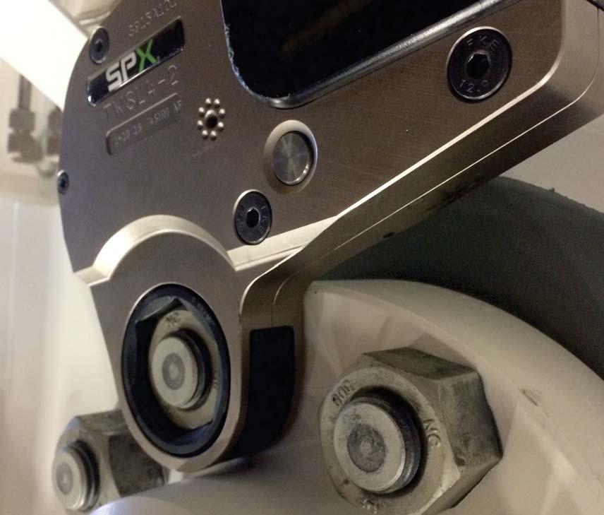 TWSL Slimline  llave hidráulica de torque