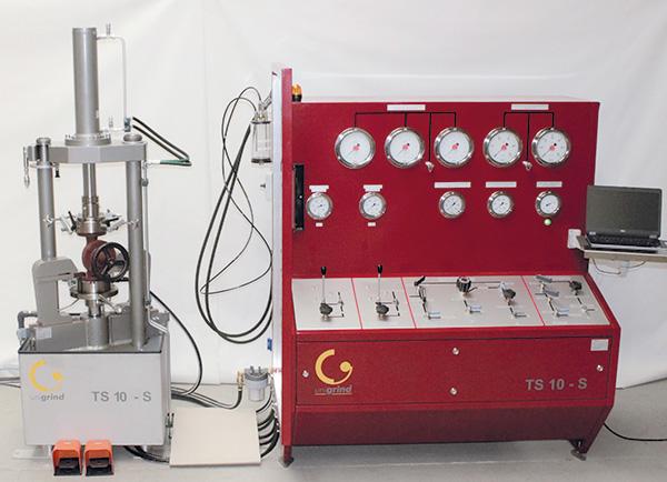 Banco de pruebas Unigrind TS10 S