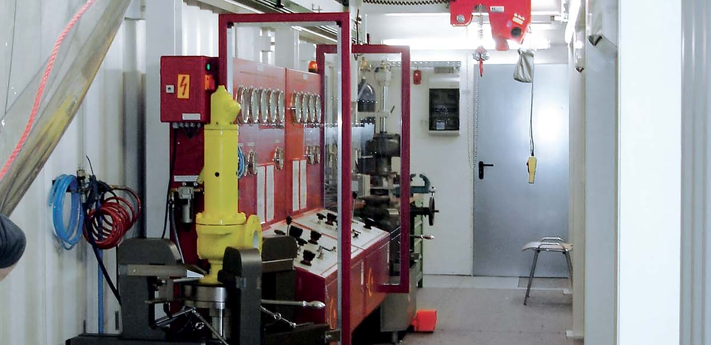 Unigrind valve workshop container