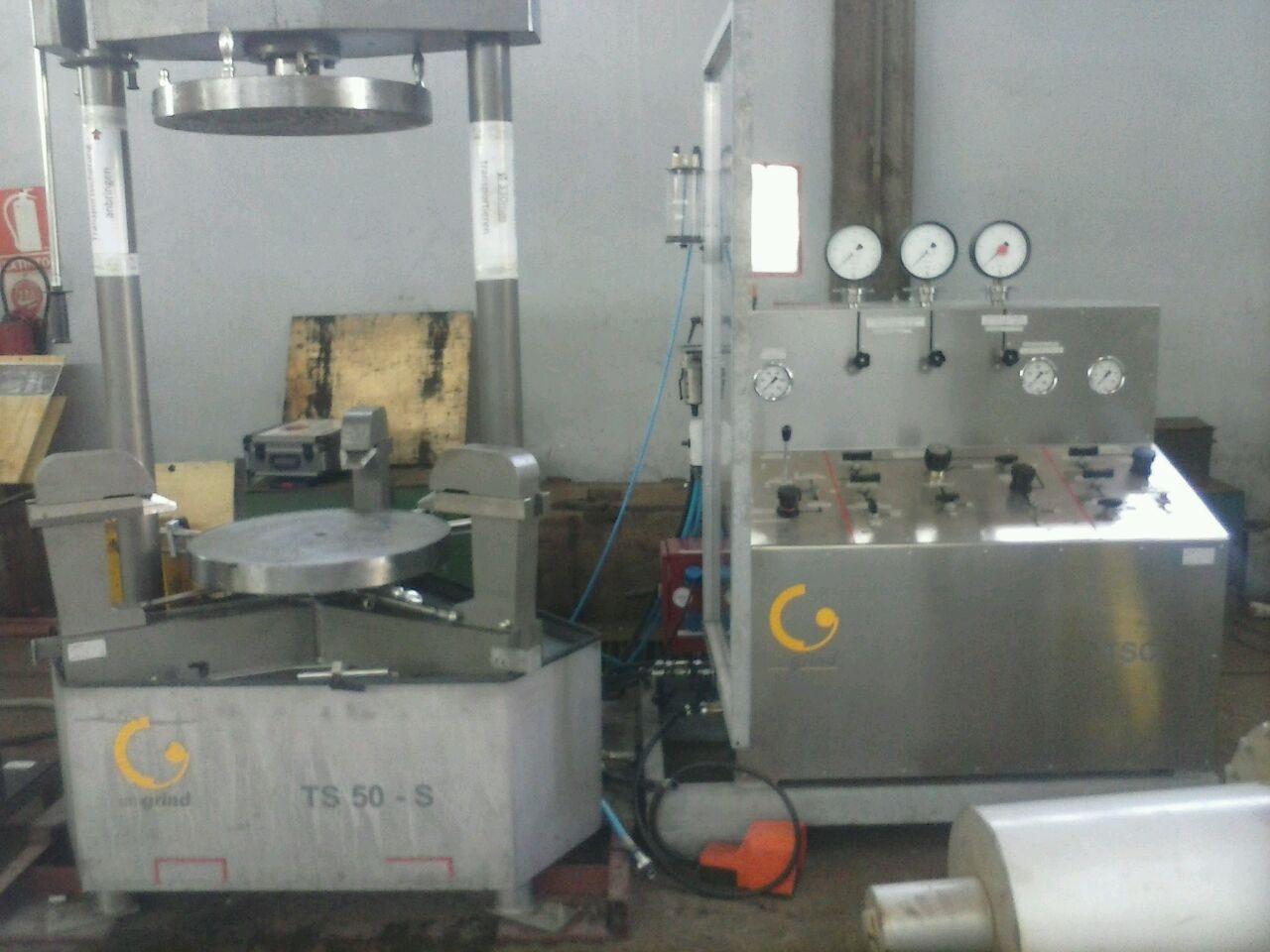 Banco de pruebas válvulas industrial