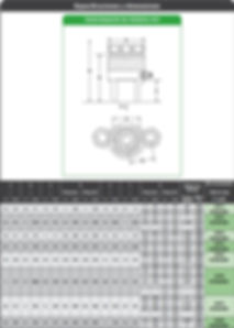 SPX SST dimensiones del tensionador