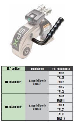 SPX asa de sujeción para llaves hidráulicas