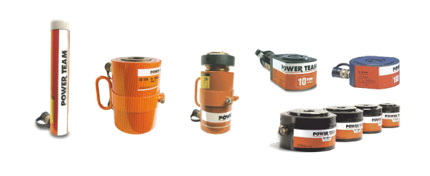 power team cilindros hidráulicos