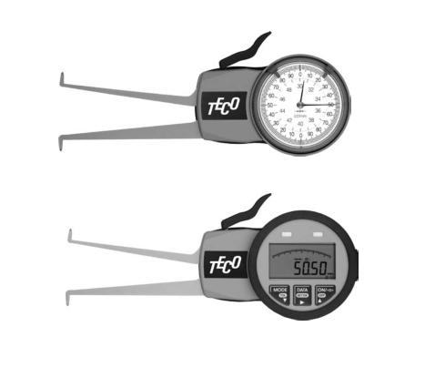 teco tube medidores de interiores