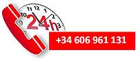 Teléfono Servicio 24 horas