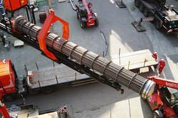 Extractor aéreo de haces tubulares