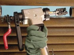 biseladora tube weasel sistema centrador
