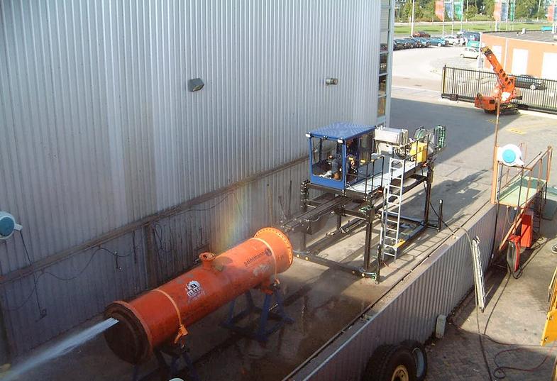 Equipo de limpieza Peinemann IBC-5