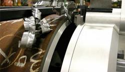 biseladora terminator detalle viruta