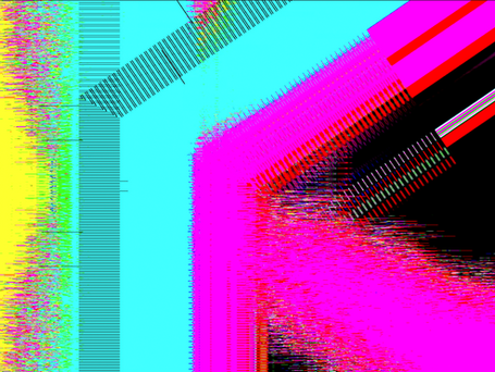 The Chaotic Cohesion of Data - Untitled 3