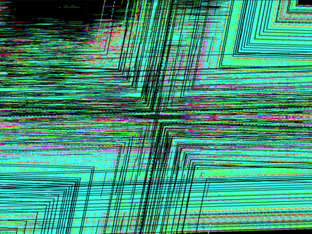 The Chaotic Cohesion of Data - Untitled 6