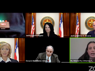 The 4th Court holds first virtual oral arguments