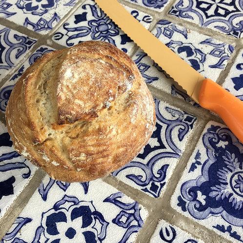 Pão Italiano de Fermentação Natural