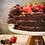 Thumbnail: Bolo brownie orgânico recheado com Brigadeiro 3,5kg