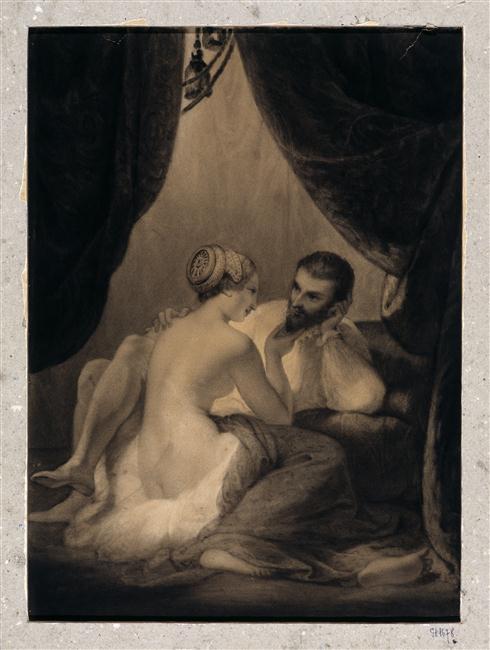 Peinture - Gabrielle d'Estrées, maîtresse d'Henri IV, François Souchon © RMN-Grand Palais / Jacques Quecq d'Henripret