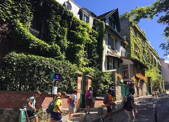 Les lieux cachés de Montmartre