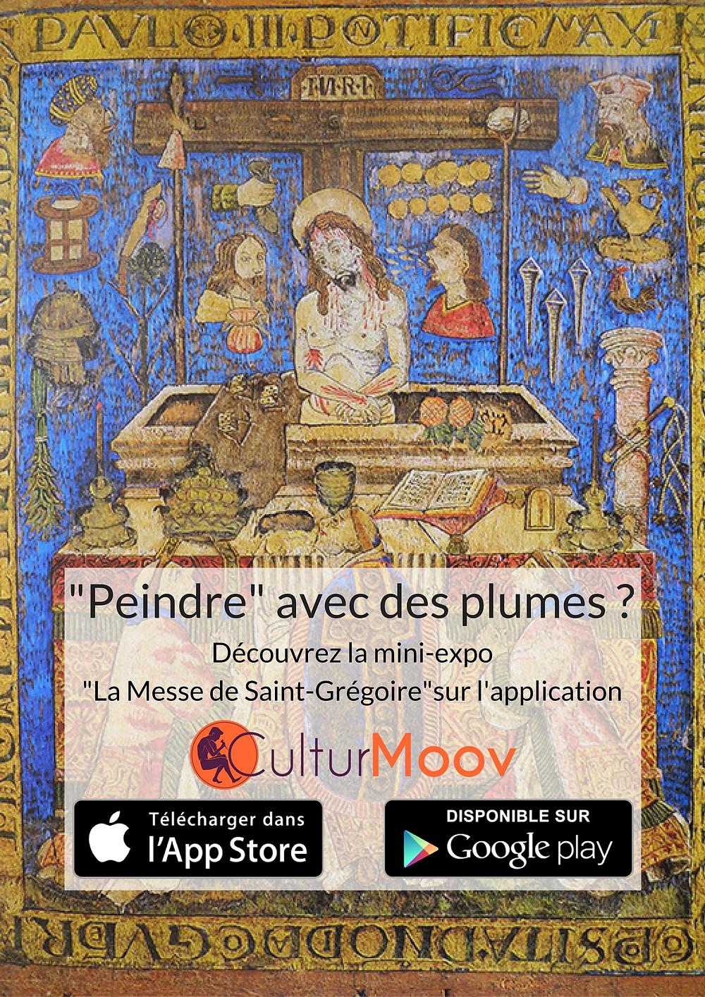 Mini expo CulturMoov sur la Messe de Saint Grégoire