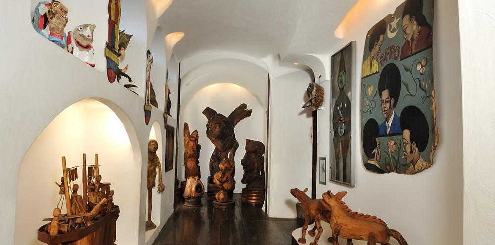 Couloir de la Maison Musée