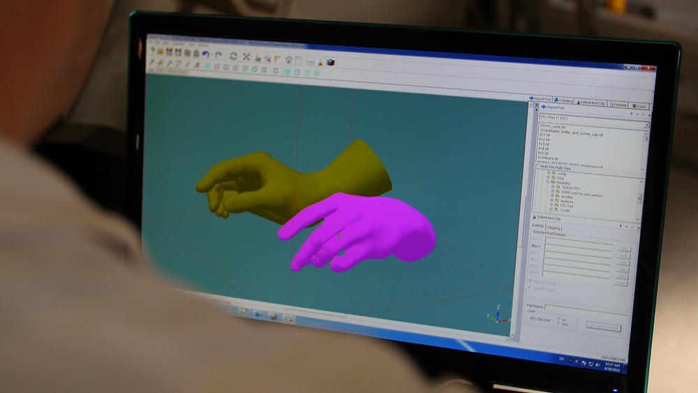 Modélisation des sculptures sur logiciel 3D