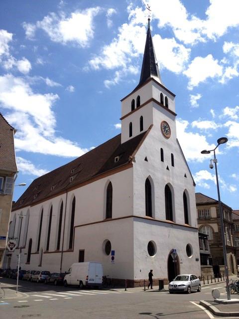 L'église Saint Guillaume